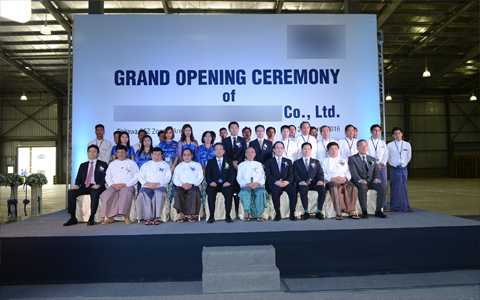 GRAND OPENING CEREMONY / 21-MARCH-2016, THILAWA, YANGON, MYANMAR.
